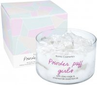 Bomb Cosmetics - Powder Puff Girls - Jelly Candle with Pure Clary Sage & Chamomile Essential Oils - Scented candle with jelly