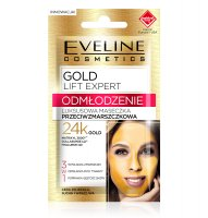 EVELINE - GOLD LIFT EXPERT - REJUVENATION - Luxury anti-wrinkle mask with 24k gold
