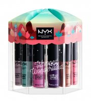 NYX Professional Makeup - Whipped Wonderland Soft Matte Metallic Lip Cream Set