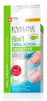 EVELINE Cosmetics - NAIL THERAPY PROFFESSIONAL 8in1 Total Action Sensitive