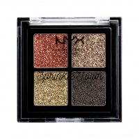 NYX Professional Makeup - Sprinkle Town Cream Glitter Palette - 002 CHOCOLATE SHAKE