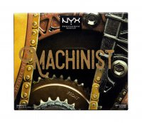 NYX Professional Makeup - MACHINIST Shadow Palette - 01 GRIND