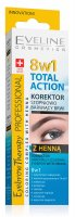 Eveline Cosmetics - Eyebrow Therapy Professional 8in1 Total Action Corrector