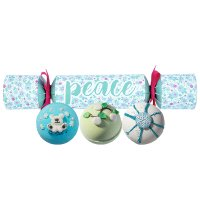 Bomb Cosmetics - PEACE Cracker Gift Pack - Gift set in the shape of a candy