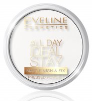 Eveline Cosmetics - All Day Ideal Stay Pressed Powder - 60 WHITE