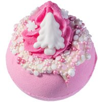 Bomb Cosmetics - Pink Christmas - Sparkling Bath Ball