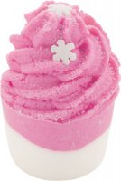 Bomb Cosmetics - Snowflakes on Your Tongue - Creamy Bath Cupcake