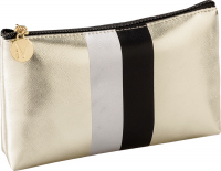 Inter-Vion - Mettalic Line Makeup Bag - Straight - 415463