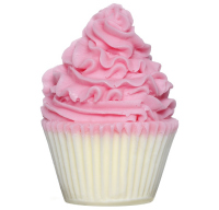 LaQ - Happy Soaps - Natural glycerin soap - PINK MUFFIN