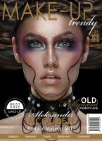 Makeup Trendy Magazine - OLD Hollywood modern look - No 4/2018