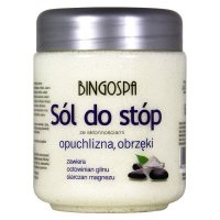 BINGOSPA - Anti-swelling foot salt - 550g