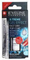 EVELINE - NAIL THERAPY PROFESSIONAL X-TREME GEL EFFECT Fast Dry Top Coat