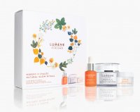 LUMENE - FINLAND - RITUAL VALO Gift Set - Gift set of face care cosmetics - Glow Boost Essence - Hyaluronic Glow Boost Essence 15 ml + Glow Reveal face cream 50 ml + Overnight Bright night cream 15 ml