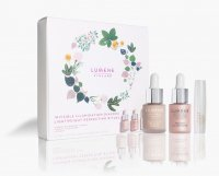 LUMENE - FINLAND - INVISIBLE ILLUMINATION Gift Set - 15 ml face cosmetics gift set - Instant Glow (Toning Serum) 15 ml + Instant Illuminizer (Liquid highlighter) + Lip Balm (Coloring lip balm)