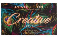 MAKEUP REVOLUTION - Creative Vol 1 Makeup Pigment Palette - 24 eyeshadows palette