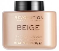 MAKEUP REVOLUTION - BEIGE BAKING POWDER - Loose face powder