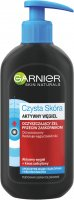 GARNIER - PURE SKIN - Active Charcoal - Cleansing gel against blackheads