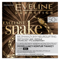 EVELINE - EXCLUSIVE SNAKE - Luxury concentrate modeling face contour cream - 50+