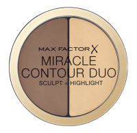 Max Factor - MIRACLE CONTOUR DUO - Light / Medium - Face contouring palette