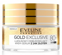 Eveline Cosmetics - GOLD EXCLUSIVE - A luxurious rebuilding cream serum with 24k gold - 80+