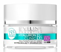 EVELINE - HYALURON CLINIC 60+  Multi nutrition wrinkles filling face cream