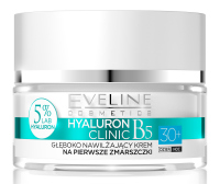 Eveline Cosmetics - HYALURON CLINIC 30+ A deeply moisturizing face cream for the first wrinkles