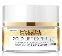 EVELINE - GOLD LIFT EXPERT - Luxurious multi-nutritional cream-serum with 24k gold - 60+