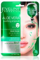 Eveline Cosmetics - ALOE VERA Soothing Ampoule Sheet Mask - A soothing and refreshing Korean sheet mask