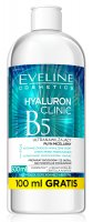 EVELINE COSMETICS - HYALURON CLINIC B5 - Ultra-moisturizing 3-in-1 micellar liquid