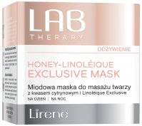 Lirene - LAB THERAPY - HONEY LINOLEIQUE EXCLUSIVE MASK - Honey face massage mask