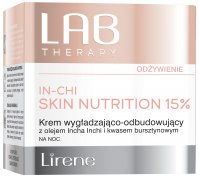 Lirene - LAB THERAPY - IN-CHI SKIN NUTRITION 15% - Smoothing and rebuilding face cream for night use