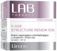 Lirene - LAB THERAPY - S-AGE STRUCTURE RENEW 10% - Tightening and rejuvenating face cream for the day use