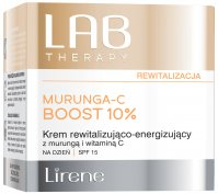 Lirene - LAB THERAPY - MURUNGA-C BOOST 10% - Revitalizing and energizing face cream for the day use