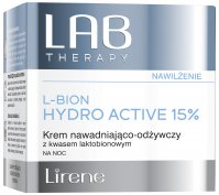 Lirene - LAB THERAPY - L-BION HYDRO ACTIVE 15% - Moisturizing and nourishing night face cream