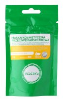 Ecocera - Anti-wrinkle cosmetic mask based on pink clay with caffeine, lycopene, gold, silver and colloidal copper - 50 g