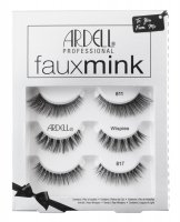 ARDELL - Faux mink 3 Pack - 3-pair set of false eyelashes strip