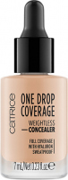 Catrice - ONE DROP COVERAGE - WEIGHTLESS CONCEALER - Drop concealer - 010 - LIGHT BEIGE - 010 - LIGHT BEIGE