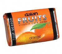 Dalan - Fruits Vitamin Care Soap - Vitamin bar soap - Orange