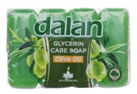 Dalan - Glycerin Care Soap - Set of 4 bar soaps - Olive