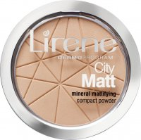 Lirene - City Matt - Mineral Mattifying Compact Powder