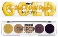 MIYO - FIVE POINTS - COLOR BOX EDITION - A palette of 5 eye shadows