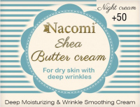 Nacomi - Shea Butter Cream - Face cream with Shea butter and tripeptide at night - 50+