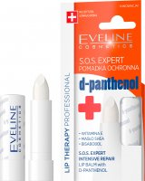 EVELINE - LIP THERAPY PROFESSIONAL - S.O.S. EXPERT - Protective lipstick with d-panthenol