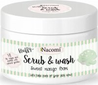 Nacomi - Scrub & Wash - Peeling and washing foam - Sweet mangoes