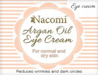 Nacomi - Argan Oil Eye Cream - Eye cream with Moroccan argan oil and grape seed oil