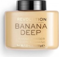 MAKEUP REVOLUTION - BANANA - LOOSE BAKING POWDER - Loose banana powder - DEEP