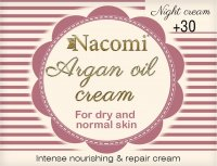 Nacomi - Argan Oil Cream - Face cream with argan oil and hyaluronic acid - 30+