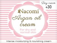 Nacomi - Argan Oil Cream - Face cream with argan oil and vitamin C - 30+