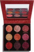 MAKEUP REVOLUTION - PRESSED GLITTER PALETTE - 9 pressed brocades - HOT PURSUIT