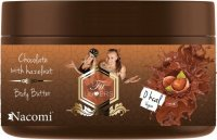 Nacomi - Fit Lovers - Body Butter - Regenerating body butter - Chocolate with nuts